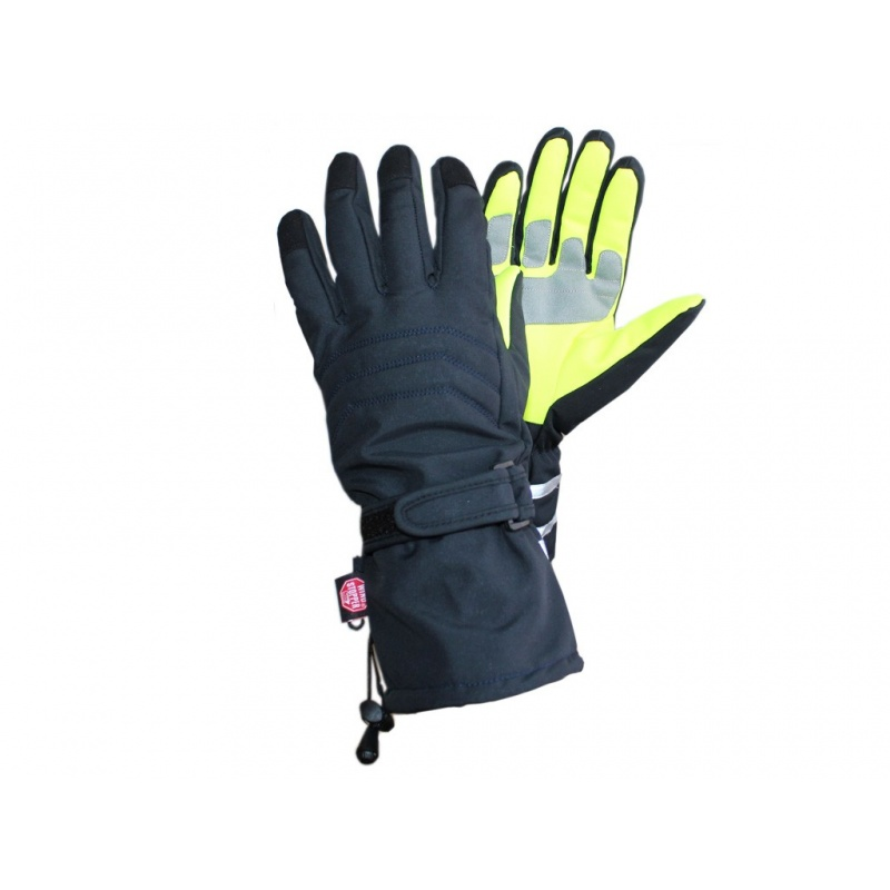 Guantes antiviento con palma de alta visibilidad AR-WS-30
